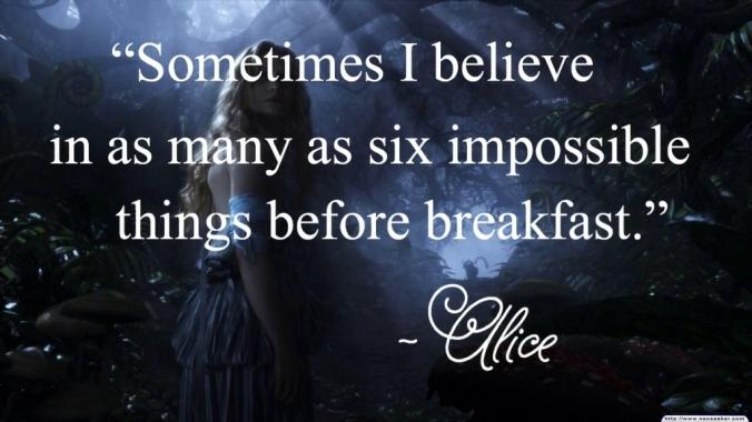 Alice In Wonderland Impossible Quote Cute Tim Burton Tumblr Follow Alice In Wonderland Cheshire Cat
